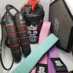 ApeFit Discs, Bands, Shakers and Jump Rope
