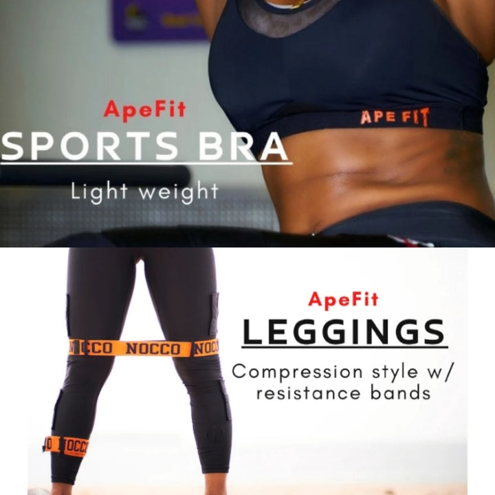 ApeFit Leggings && Sports Bra