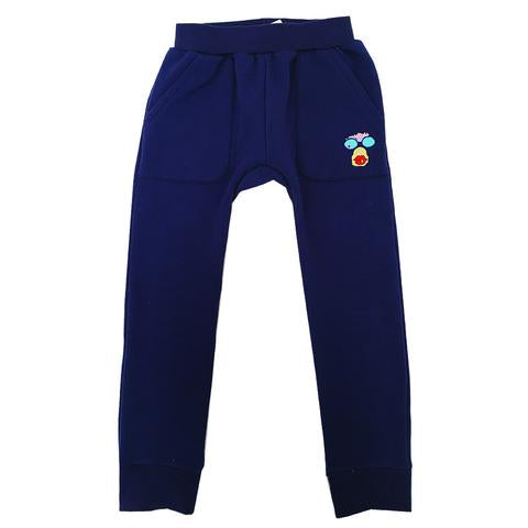Banana Love Hangout Pants -Blue