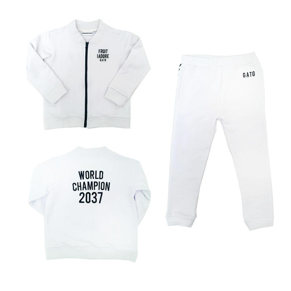 World Champion White Tracksuit