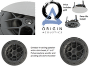 Upgrade Option - 3 room Multi-Room Audio with 3 pairs of in-ceiling speakers