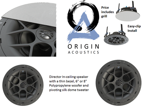 Upgrade Option - 4 room Multi-Room Audio with 4 pairs of speakers