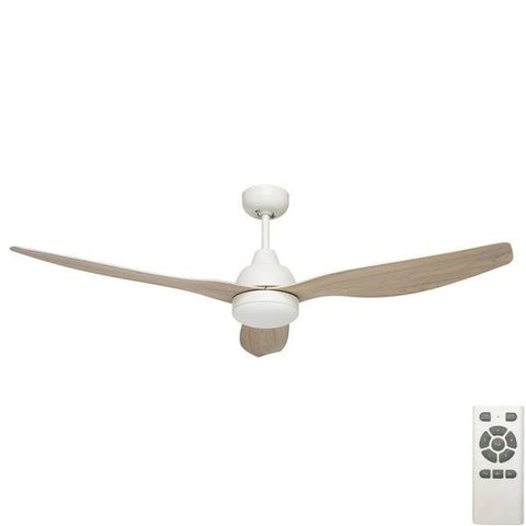 "BAHAMA SMART 52"" LED FAN - Timber"