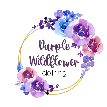 Purple Wildflower Clothing