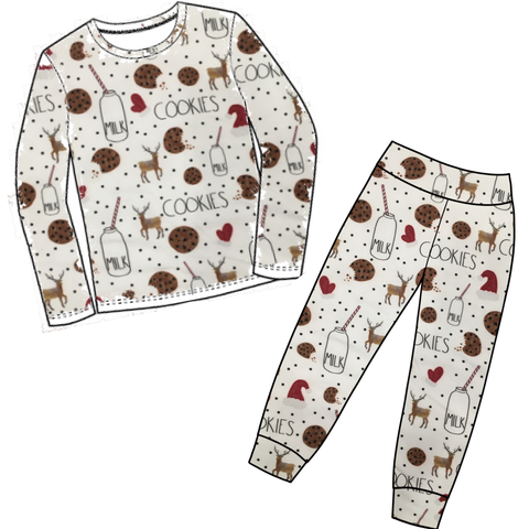 Milk & Cookies Jammies BUNDLE