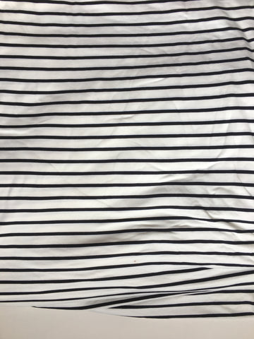Black and white stripe kids Avery Tee