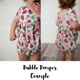 Avocado Bubble Romper