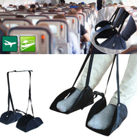 Travel Foot Pad Portable Travel Airplane Foot Pad Adjustable Train Flight Stand Footrest Hammock