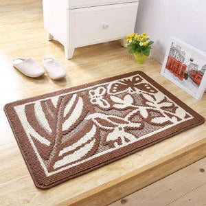 European Vintage Style Door Mat Absorbent Carpet Non-slip Rug Home Decor