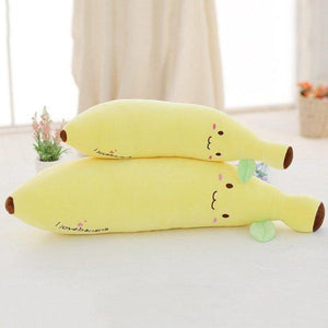 Soft Banana Plush Pillow Staffed Emoji Cushion Boyfriend Pillow Creative Valentine's Gift Plush Toy