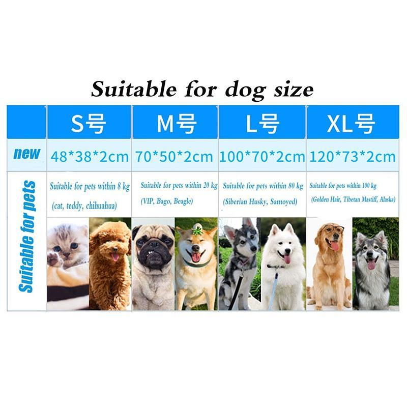 Breathable Pet Dog Cat Summer Sleeping Mat Automatic Cooling Mat Mattress Cold Pad