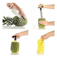 Plastic Pineapple Peeler Fruit Cutter Pineapple Corer Knife Slicer Kitchen Tools Gadget