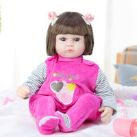 42CM Baby Reborn Dolls Toys For Girls Sleeping Accompany Doll Present