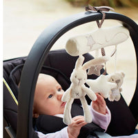 1pcs Baby Rattle Toys Animals Bed Bell And Stroller Hang Boutique Car Hanging
