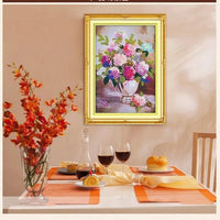 Material Of DIY Cross Stitch 3D Printed Hanging Scroll Paintings Embroidered Material