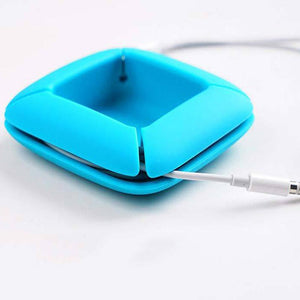 Earphone Silicone Data Line Protection Portable Sleeve Winder