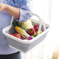 Collapsible Portable Multifunctional Collapsing Basket Folding Storage Containers