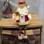 Christmas gift Santa Claus Sitting Snowman Doll Christmas Ornaments Home Decoration