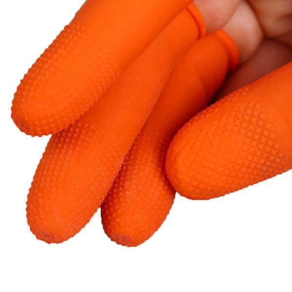 100pcs Disposable Latex Anti - static Finger Sets Dust - free Powder - free Agricultural Finger Sets