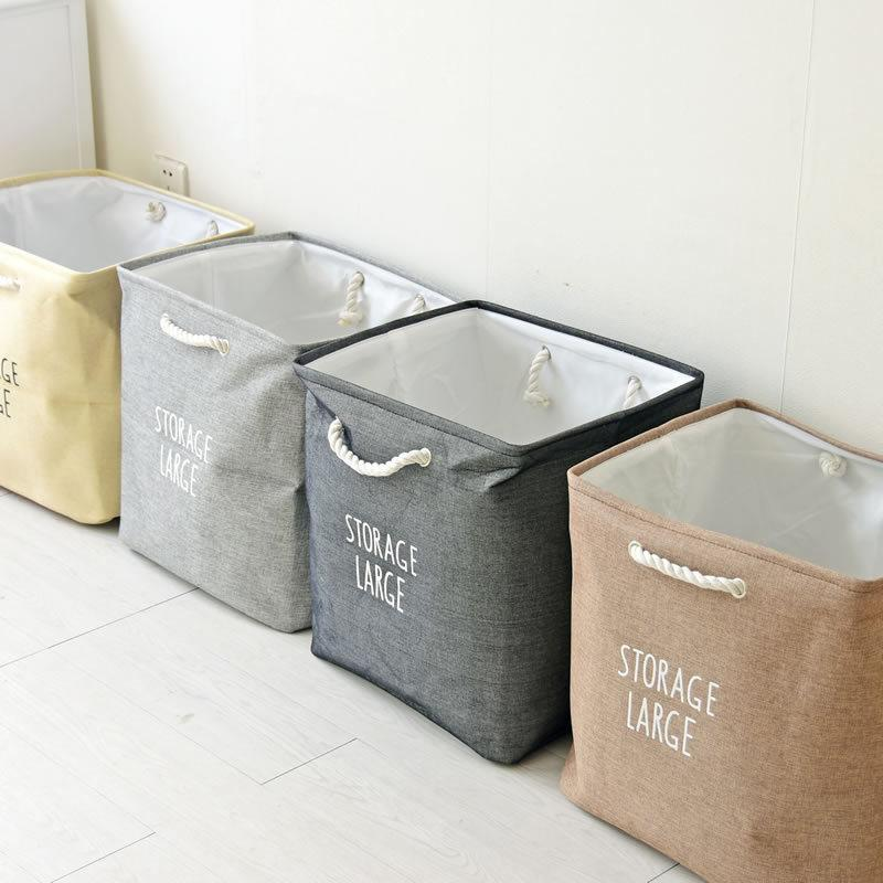 Large EVA Thickened Double-deck Receiving Basket Foldable Sundries Storage Basket