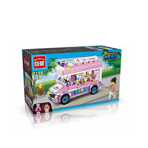 Children Pretend Role Play Toy Mini Ice Cream Car
