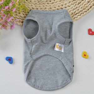 Cute Cat Clothes Summer Pet Clothing for Cat Fashion Pet Coat Jacket Printed Vest Love Daddy Mommy Costume Funny Apparel