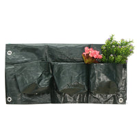 6 Holes Railing Planter Bag Plastic Planting Bags