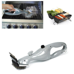 Barbecue Stainless Steel BBQ Cleaning Brushes Outdoor Grill Cleaner with Steam Power BBQ Accessories Cooking Tools
