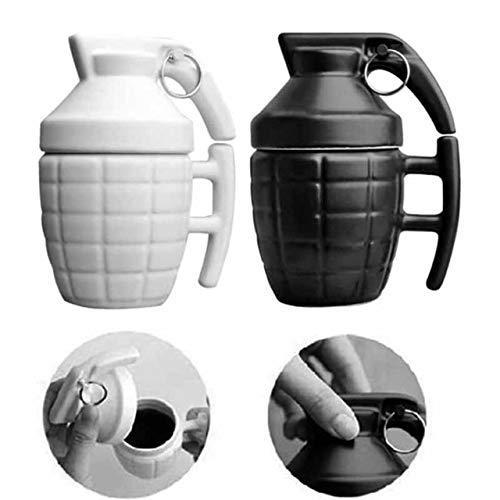 Grenade Coffee Mugs Practical Water Cup with Lid