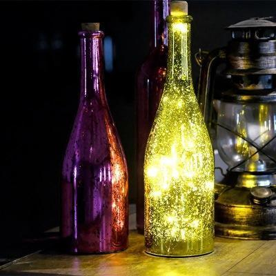 Creative Led Bottle Light Glowworm String Light Bar Home Decor