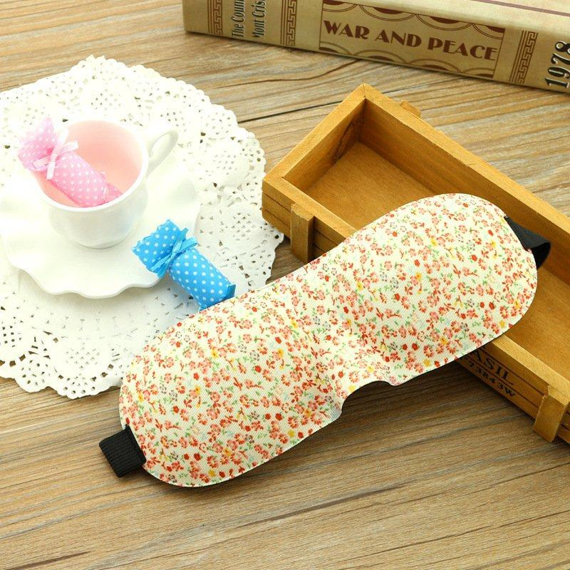 Travel Eye Mask 3D Breathable Travel Rest Soft Eye Mask Traceless Sleeping Blindfold
