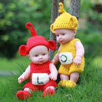Full Body Silicone Reborn Baby Dolls Kids Toys For Christmas Gift
