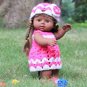 Hot Sale Plush Stuffed Baby Doll Children Toy Simulation Baby Girl  Doll