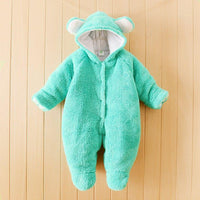 Newborn Infant Autumn Winter Baby Romper Infant Baby Boy Girl Cute Rabbit Bear Cat Sheep Romper Kid Jumpsuit Clothing