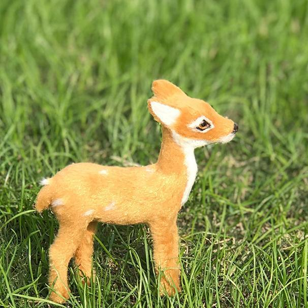 Hot Sale Lovely Simulation Animal Doll Plush Deer