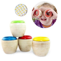Best Wooden Educational Kaleidoscope Baby Children Learning Puzzle Sensory Toys