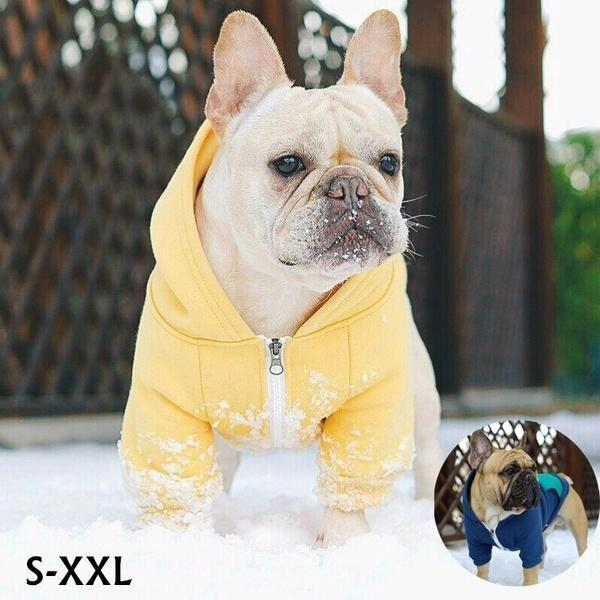 Cute Dog Hoodie Pet Dog Clothes For Dogs Coat Jacket French Bulldog Clothing