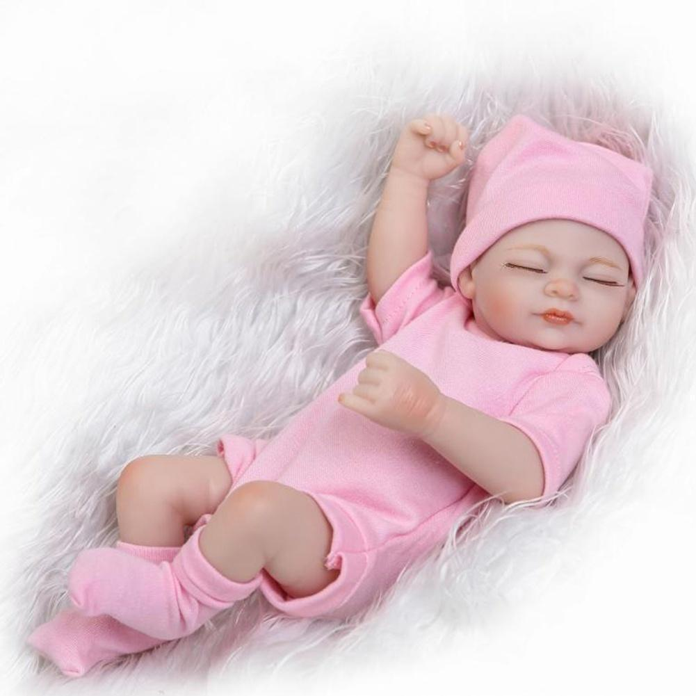 Cute Reborn Baby Doll Newborn Lifelike Sleeping Baby Dolls Christmas Gift