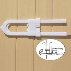 U-shaped Cabinet Door Lock for Child Safety Protection