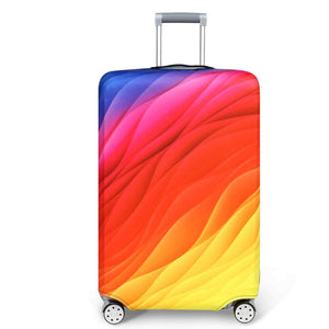 Luggage Covers  Dreamy PatternThickened Dustproof Elastic Case Travel Suitcase Luggage Covers