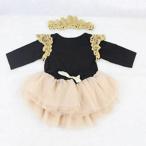 Lovely Doll Dress for 22-23 Inch American Girl Lace Ballet Dress for Baby Born Doll Outfits