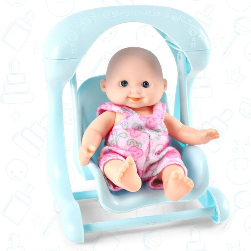 Simulated Vinyl Cradle Doll Bathing Baby Doll