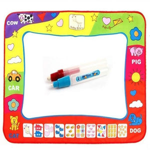 New Fashion Educational Water Drawing Painting Writing Mat Board Magic Pen Doodle Toy Gift