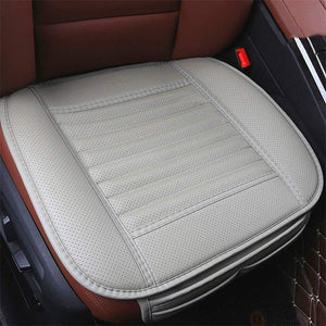 Leather Charcoal Car Seat Cushion(Four Seasons Universal)(Absorbing odor)