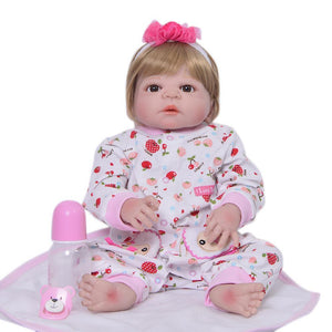 Beautiful Doll Pink One-piece Garment Fit 55-57cm Baby Born zapf 22 Inch American Girl Dolls