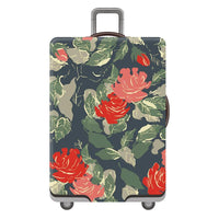 Luggage Covers Flower Print Elastic Thickening Stretch Trolley Case Dust Cover Luggage Covers
