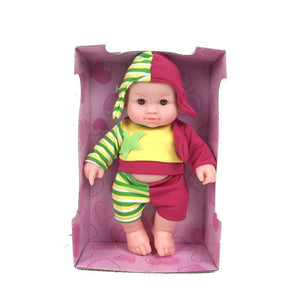 Hot Sale Plush Stuffed Baby Doll Children Toy Simulation Baby Sing Doll