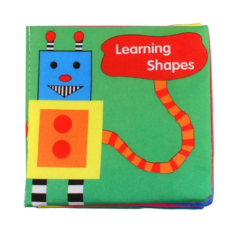 Intelligence Development Cloth Bed Cognize Book Educational Toy for Baby