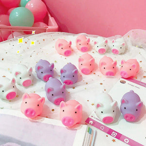 Creative Cartoon Pig Pillow Washable Decorative Pillow Cute Pig Toy
