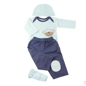 Doll Cute Pajamas Tailored for 22-23 inch American Girls or 55-57 cm Newborn Dolls